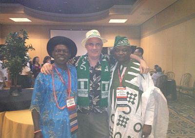 Brian Clarke Managing Partner with Safety delegation from Nigeria