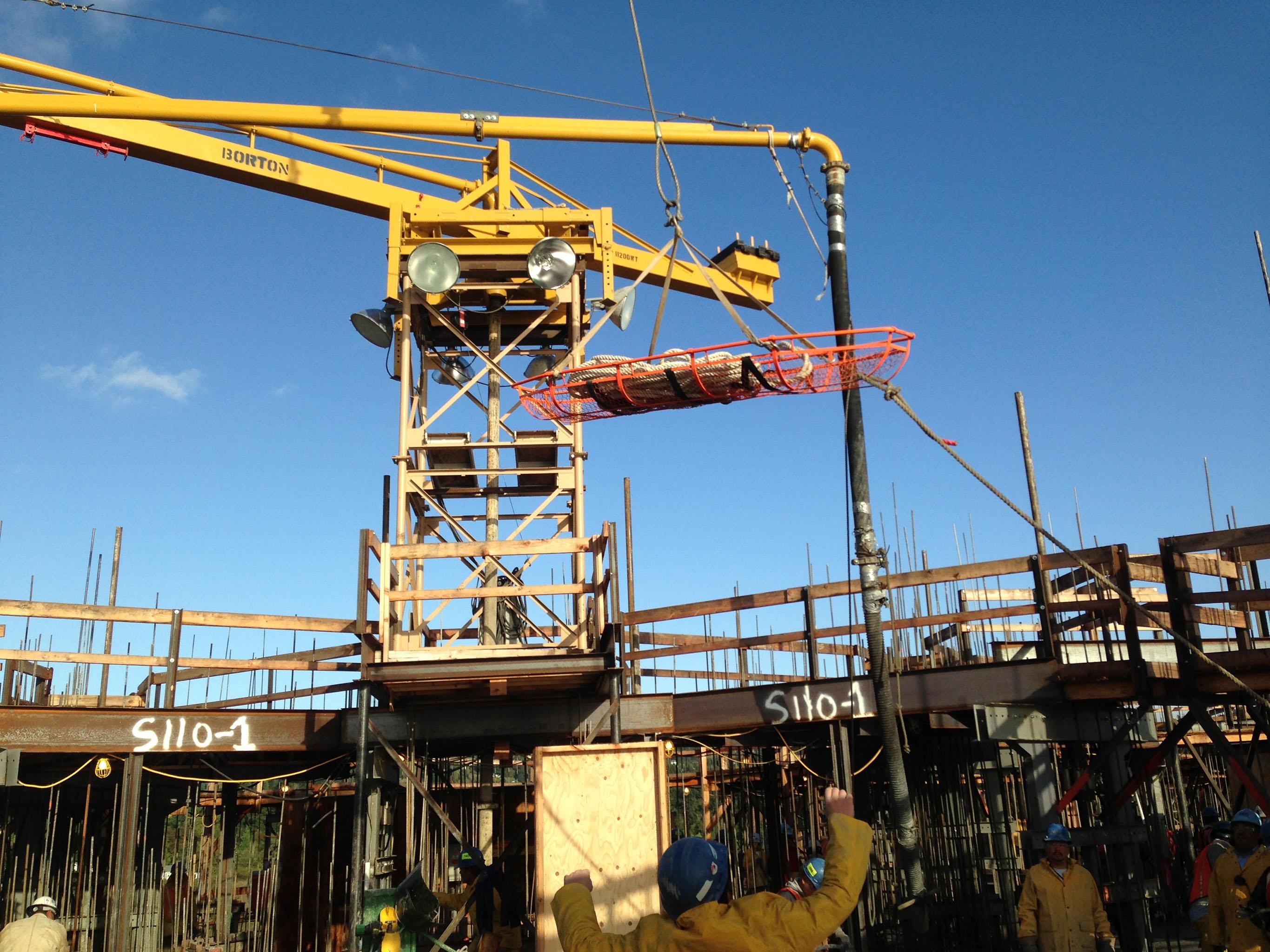 Tower Crane Rescue Procedure : Projects gew llc