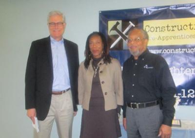 Partner Bruce Poinsette, volunteer safety instructor at Portland State University